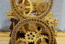 Marble wood machines