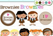 brownie scouts / by Jessica Scanlan
