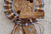 Gratulerer med dagen - Stempelglede / Cards and projects from the DT -  Rubber stamps from the Stempelglede 'Gratulerer med dagen' Collection.  http://www.stempelglede.com/stemplergrat.html