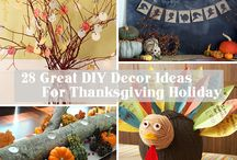 Thanksgiving Inspiration / DIY and Inspiring Ideas to make your Thanksgiving Day celebration memorable.