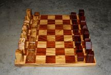Abstract Chess Sets / Handmade, available on etsy and by custom order from https://www.etsy.com/shop/PaleBlueAtlasClub