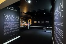 Delvaux Maison Fantastic / A look inside the Delvaux Maison Fantastic in Seoul, a paradoxal world that retraced the history and creative legacy of the house.