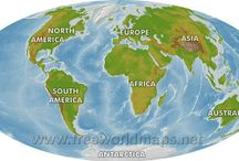 World maps / World maps in different styles and format
