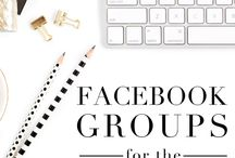 FACEBOOK TIPS FOR BLOGGERS / Struggling to grow your blog? Facebook is one of the best social media tools to drive traffic to your blog, grow your audience, increase email subscribers, and make money with your blog. Check out the best articles on how to use Facebook to grow your blog!