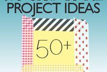 Декоративный скотч - идеи | washi tape ideas / Разные идеи использования декортивного скотча в твоем блокноте, артбуке, личном дневнике