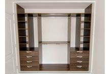 Inside the wardrobe / There is so much you can do with the inside space of a wardrobe. We aim to make it functional, bespoke and use every inch of space.