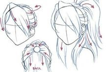 learn to draw hair... :)