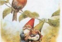 gnomes / by Sheila Mesick