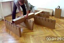 Karton bútor - Videók - Cardboard