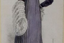 Regency Clothing / What the well-dressed lady and gentleman wore in the 1810s.