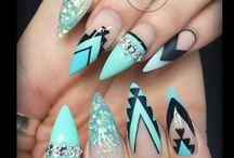 Aztec nails / aztec nails art