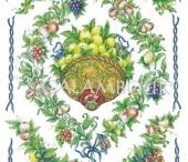 FRUTTA/FRUITS/ФРУКТЫ/FRUITS / CALAMBOUR'S PAPER FOR DECORATION WITH FRUTTA/FRUITS/ФРУКТЫ/FRUITS