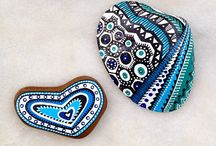 Hand Painted Stones etc... by Pagur Design