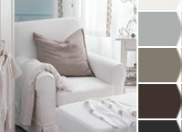 Dream Home: My House Color Palettes / Interior colors