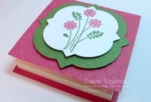 Stamp & Embellish 3D Projects / Handmade 3D paper crafting projects