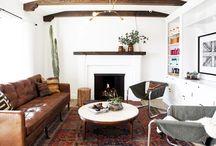 CASA // living room / by Julia Wheeler // Gunn & Swain