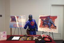 DangerMan Reads! / DangerMan the Urban Superhero promotes Literacy