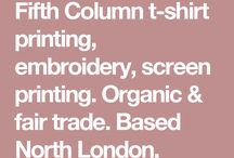 UK MANUFACTURERS / Printing, merchandise & manufacturing companies in the UK - recommended by other designers!   (I cannot personally vouch for these, please use at your own risk.)