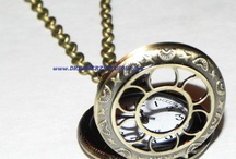Pocketwatches & Watch Necklaces / by Caley Brock