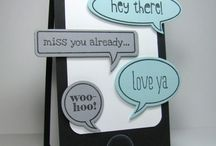 Stampin' Up! - Just Sayin / by Rochelle Blok, Independent Stampin'  Up! Demonstrator