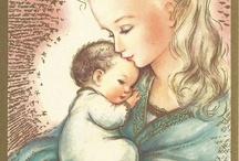 virgen / Estampas de la Virgen de todo el mundo / by GÜI ROSAD