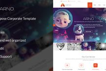 PSD Templates  / Here is our growing collection of PSD Templates.  / by Big Bang Themes