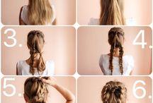 DIY Hair / #hair #diy #diy hair #haare delver machen #frisur #oktoberfest
