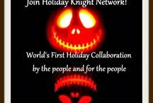 Holiday Knight- A collaborative Holiday Project / Holiday knight is a collaborative Holiday network that is run by the holidayholic people and is entirely for the holiday lovers. Anyone can join the site and start contributing with their recipes, crafts, ideas, pranks, and almost everything that is related to holidays. Even Holiday sellers are welcome.