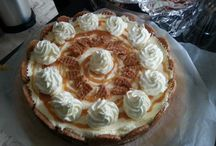 zelf gemaakte taarten