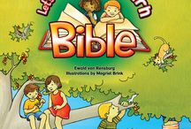 """Let's Play and Learn Bible Range / The Let's Play and Learn Bible Series is an unique interactive illustrated storybook Bible. With the help of two child characters, Sammy and Amy, children between 7 and 10 years, will be able """"to climb into the Bible"""" and experience the Bible story as if they are there with the Bible characters. In this imaginative way children will discover how relevant the Bible still is today, how meaningful faith is and how wonderful it is to be a child of God. Target Market: Children 7 to 10 years"""