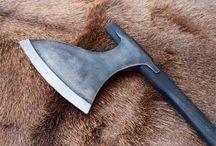 Axes/kama/scythe/miscellaneous blades / by Eric Haldeman