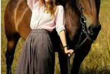 Лошади, люди