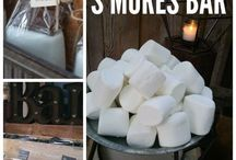 Food Bar Ideas! / The Food Bar is a new trend for weddings! Here are a few food ideas to have on your big day!