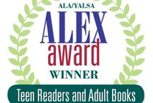 """Alex Award Winners / Sponsored by the Margaret A. Edwards Trust, YALSA presents The Alex Awards. These awards """"are given to ten books written for adults that have special appeal to young adults, ages 12 through 18"""" (Alex Awards, YALSA). This board features winning titles, they may be located in the library's Juvenile, Recreational Reading, or general circulation collections. / by IRC @ Ashland University Library"""