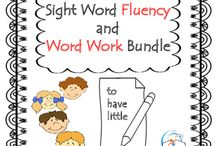 Sight Word Fluency and Word Work / Sight Words Fluency NO PREP and Word Work. Do you need ideas for teaching sight words? This packet is full of fun activities to help your students master sight words! This resource combines both word work and fluency, so your students will not only practice one new sight word at a time, they will also practice writing with the word.  This package has been designed by primary school teachers and has been tested in kindergarten classrooms.