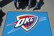 NBA - Oklahoma City Thunder Tailgating Gear, Fan Cave Decor and Car Accessories / Find the latest Oklahoma City Thunder Man Cave Decor, NBA Tailgate Party Accessories, and Automotive Basketball Fan Gear for your car or truck