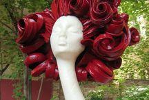 Foam Wigs/ paper/Textile