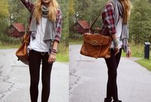 Teen fashion  / Casual teen winter outfit