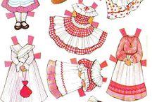 oblékací panenky