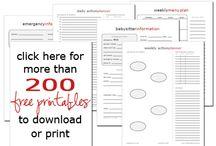 Everyday Printables