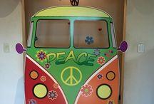 Fiestas tematicas / Peace & love