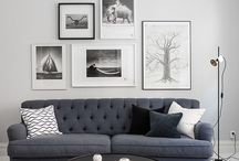 The perfect two - grey and white / Interior harmony in grey and white colours