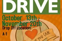 Food drives / Ideas to encourage