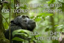 SPECIAL OFFERS / This is a special offer for TEACHERS and LIBRARIANS. Click on over to my website for the details.