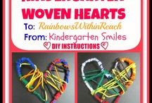 Kindergarten crafts / by Sandra Black