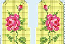 Pola cross stitch