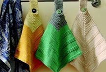 Πλεκτές πετσέτες κουζίνας