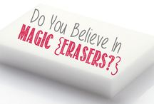 Uses for magic erasers