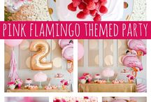 Flamingo 5th birthday