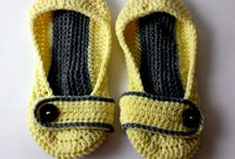 SLIPPERS, SOCKS & BOOTIES / Slippers, socks, booties, and anything that keeps your feet nice and cozy!